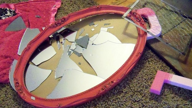 розбите дзеркало